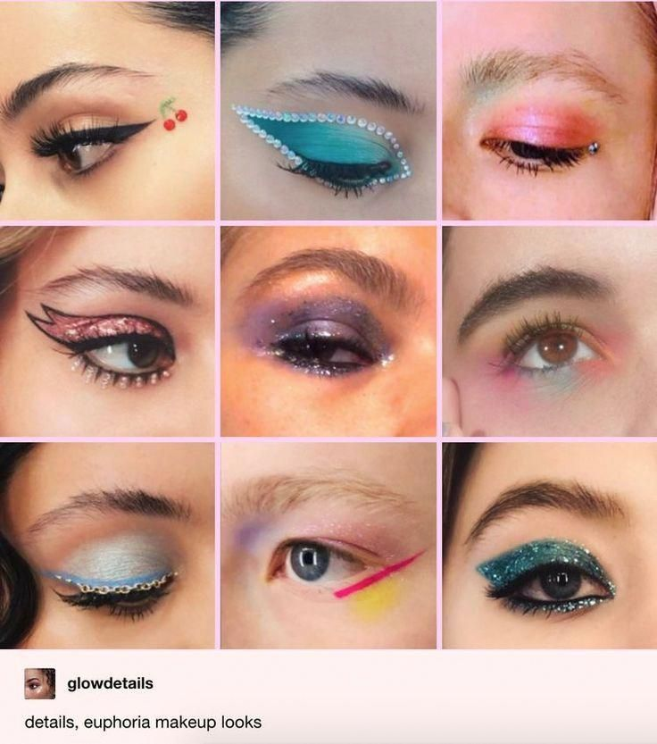 All The Euphoria Makeup Looks From Season One What They Mean
