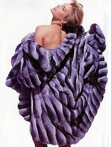 1990s Chinchilla Fur Coat