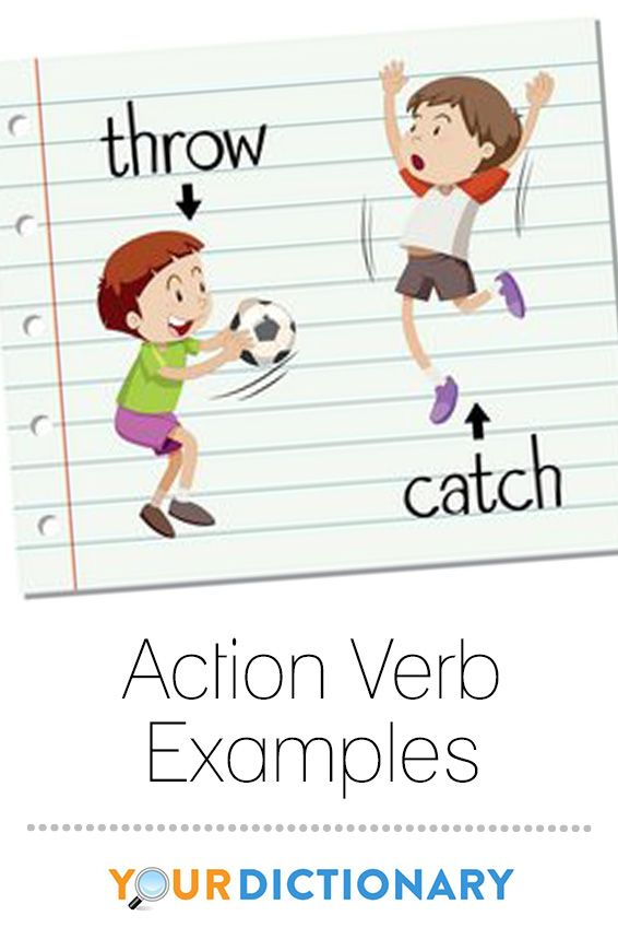 Action verbs, also called dynamic verbs, express an action whether it be physical or mental. An action verb explains what the subject of the sentence is doing or has done. Looking at examples helps make it clear the function of action verbs in sentences and what purpose they serve. #grammar #vocabulary | Action Verb Examples from #LoveToKnow