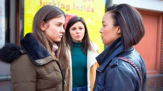 Sophie, Caz and Kate - Coronation Street - ITV
