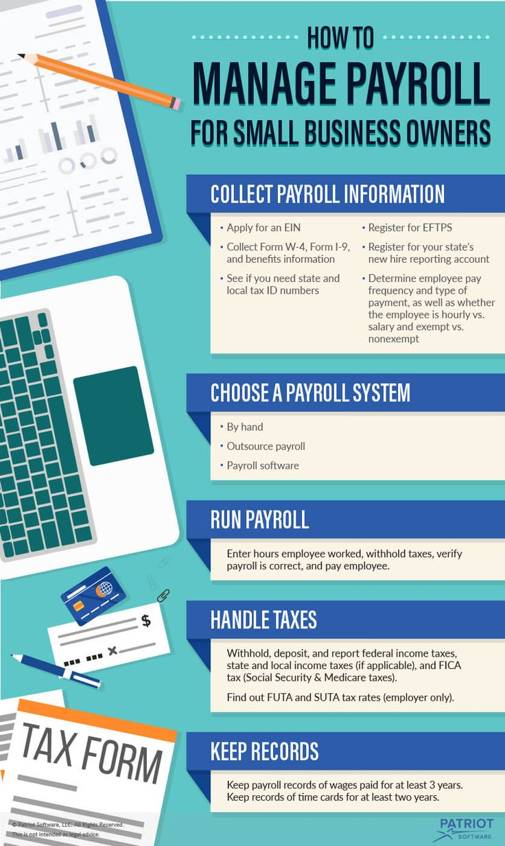 how to set up payroll for one employee