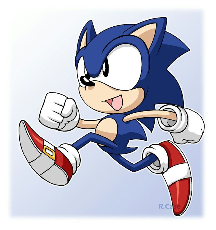 Lil' Sonic Running! -- Google Search