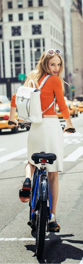 City summer chic. Ciao Bellissima - Art of Travel; courtesy of Kate Bosworth  for Lucky Magazine