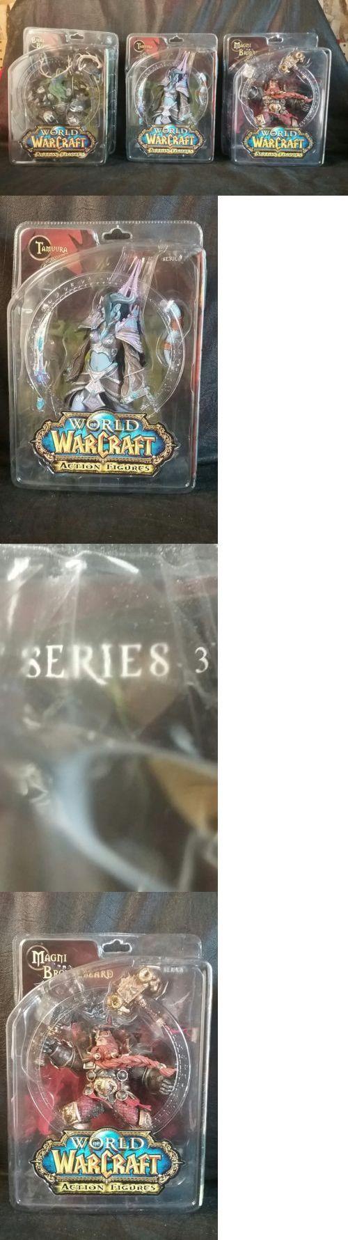 World of Warcraft 168258: World Of Warcraft Figures Lot Tamuura Bronzebeard Bearmantle Series 3, 2, 6 2008 -> BUY IT NOW ONLY: $130 on eBay!