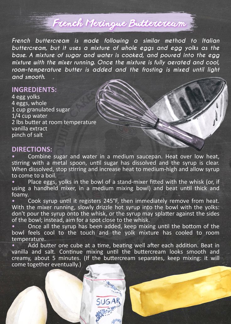 French Meringue Buttercream Recipe - Creamy and luscious