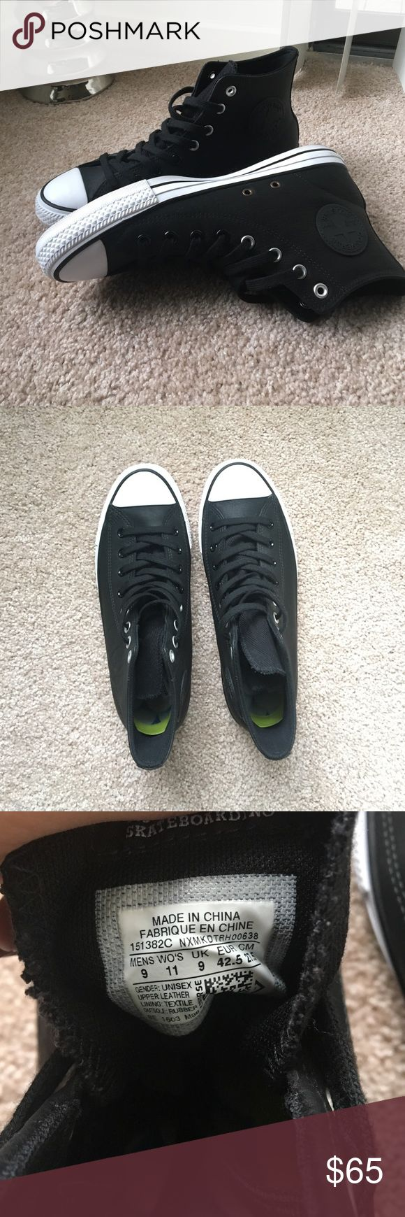 CONVERSE ALL STAR HIGH JASON JESSEE SKATE SHOES Worn once, these shoes are in perfect condition and are great for being active, or causal. Converse Shoes Sneakers