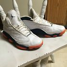 For Sale - Jordans Size 12 Navy Blue Orange Used Phoenix Suns New York Knicks Denver Bronco - See More At http://sprtz.us/SunsEBay