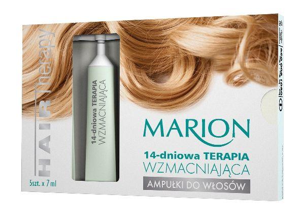 Ampułki do włosów: 14-dniowa Terapia WZMACNIAJĄCA