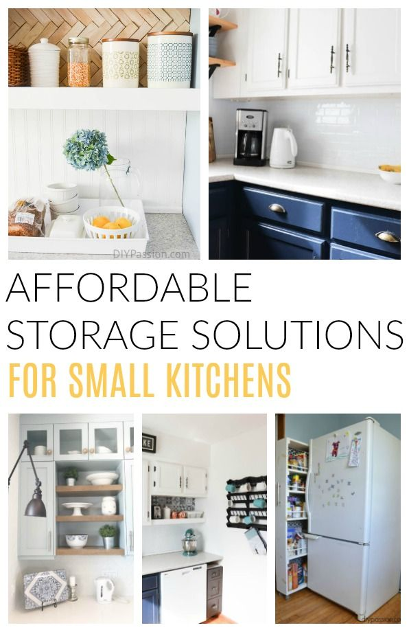 How To Live With A Small Kitchen Without Doing A Major Renovation Small Kitchen Decor Kitchen Design Small Kitchen Decor