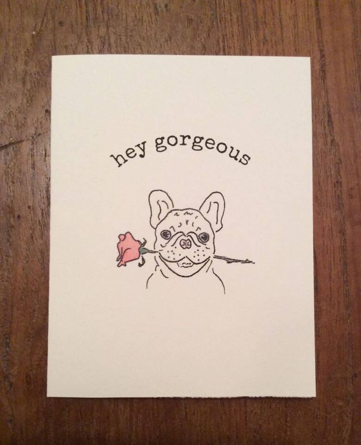 #vday #pup #pupper #dog #valentine https://www.etsy.com/ca/listing/545604692/hey-gorgeous-pupper-card