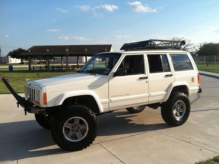 Image result for jeep cherokee xj 285 tires