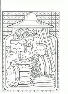 Coloring Coffee PagesColoring BooksAdult ColoringSmash