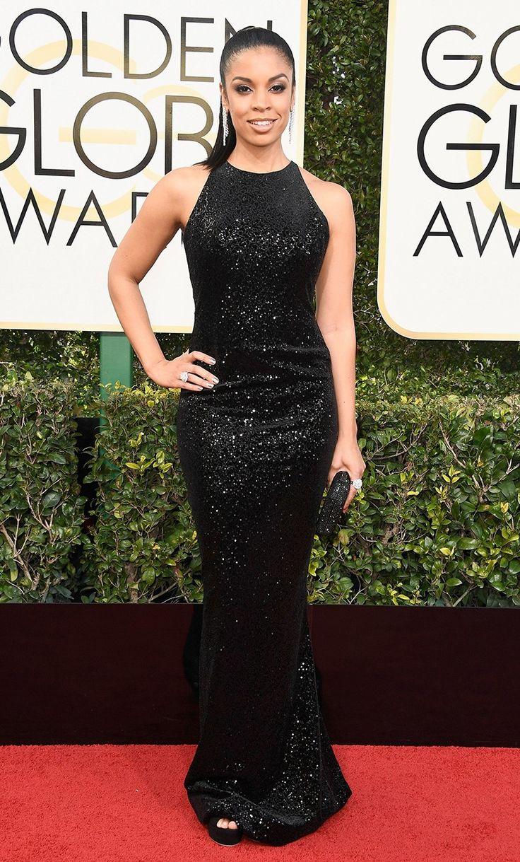 Сьюзэн Келечи Уотсон на церемонии вручения наград премии «Золотой глобус» в Лос-Анджелесе, 08 января 2017 г.