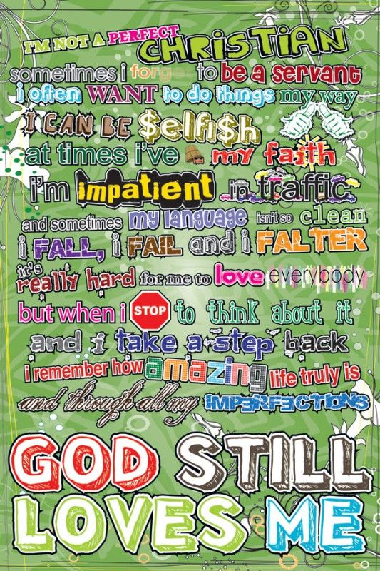 Christian posters for youth - God - 154.9KB