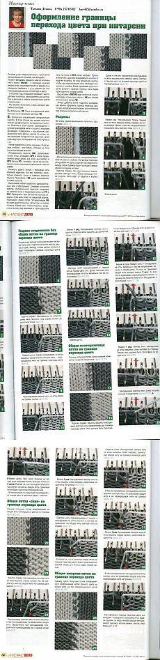 Машинное вязание.