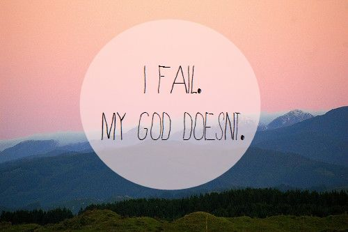 I fall short of your glory, Lord but you pick me up and put me back on your path..How great is My GOD <3