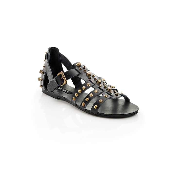 Gladiator Sandal with studs - Perfect Summer Shoe  #fashion #wardrobe #womens #ladies #girls #beauty#Shoes #Heels #Pumps #Wedge #Sandals #sale #leopard #rock #punk #goth