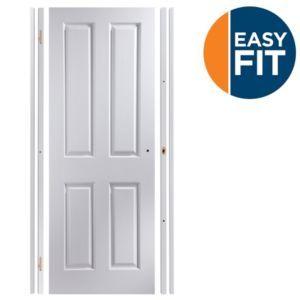 Easy Fit 4 Panel Pre-Painted Internal Door Kit Easy Fit 4 Panel Pre-