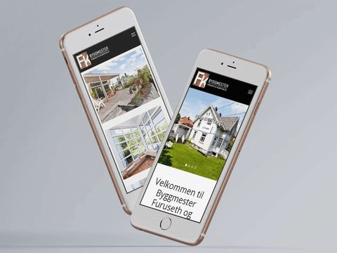 Ny mobilvennlig nettside for byggmesterfirmaet Furuseth og Kløvstad i Oslo. Se: www.FogK.no #responsive #mobilvennlig #webdesign #webutvikling #norgesdesign
