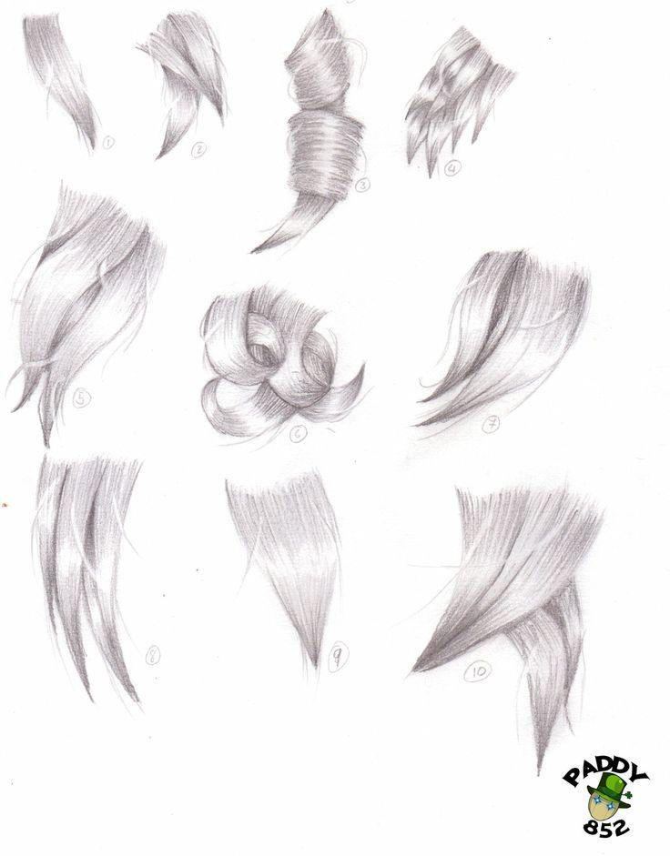 Hair study by paddy852.deviantart.com