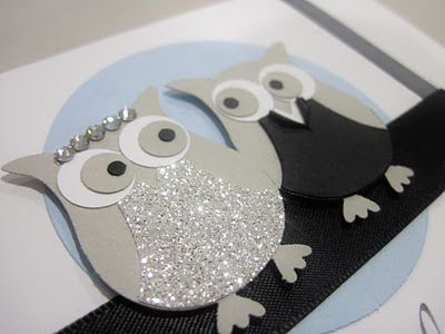 gotta love the owl punch from Stampin' Up! Totally going to have this a my renewing at my vows wedding!!