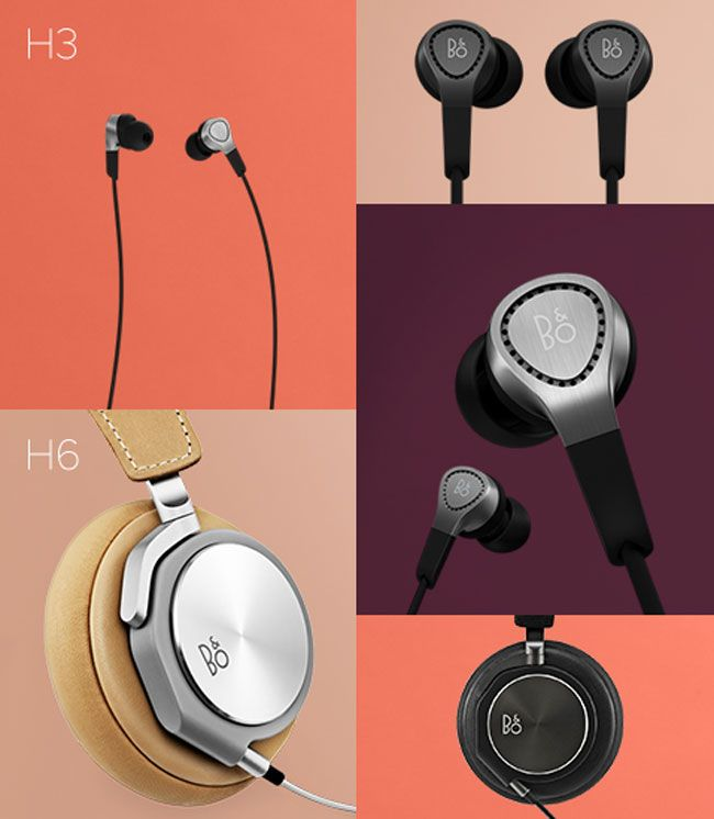 Bang & Olufsen has launched their 2 new sets of headphones called the B Play H6 and H3 in Europe. B & O has partnered with Danish industrial designer Jakob Wagner to design this range and these are created to be durable and long lasting, and off course for the sound quality for which B & O is so renowned for.