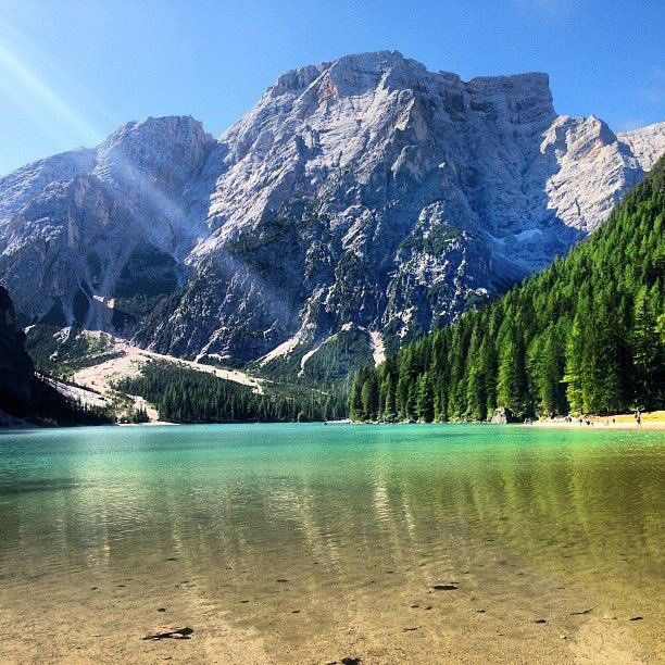 RT @whereidrather: Lago di Braies in South Tyrol Italy. https://t.co/GKNirWTqwA