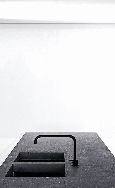 Kitchen by Vincent Van Duysen | DC2 residence Belgium