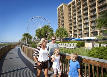 Myrtle Beach's new 1.2 mile long oceanfront boardwalk and promenade is home to festivals, events, shopping, and some of the best dining and nightlife in town.