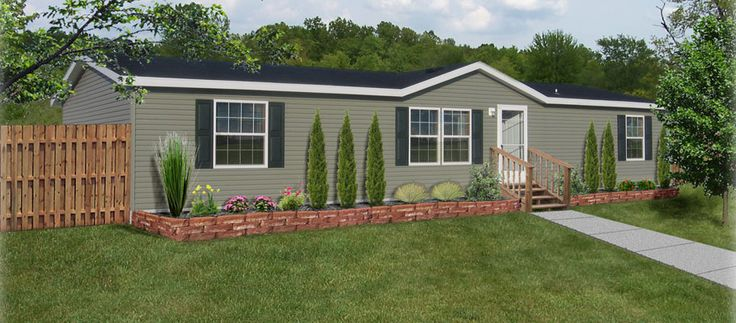 mobile home landscaping | Mobile Homes and The Improvement Project