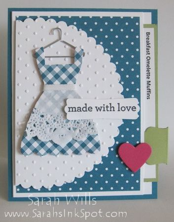 Recipe Card Pullout tutorial ~ great instructions!