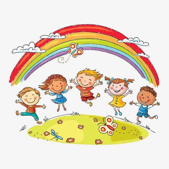 الأطفال يلعبون رينبو أطفال يلعبون قصاصات فنية قصاصات فنية للأطفال Arcoiris Png والمتجهات للتحميل مجانا Dibujo De Ninos Jugando Ninos Felices Dibujos Familia Feliz Dibujo