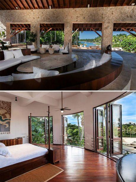 Oceanfront stone home in Casa de Campo, Dominican Republic
