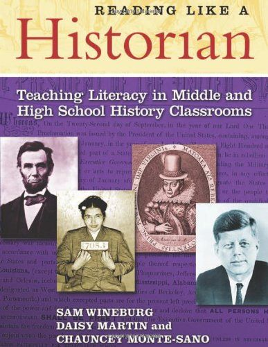 Book Cover Reading Like a Historian: Teaching Literacy in Middle and High School History Classrooms (0)