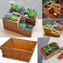 Fontes do jardim Plantador Do Jardim de Madeira Caixa de Janela Trough Pot…