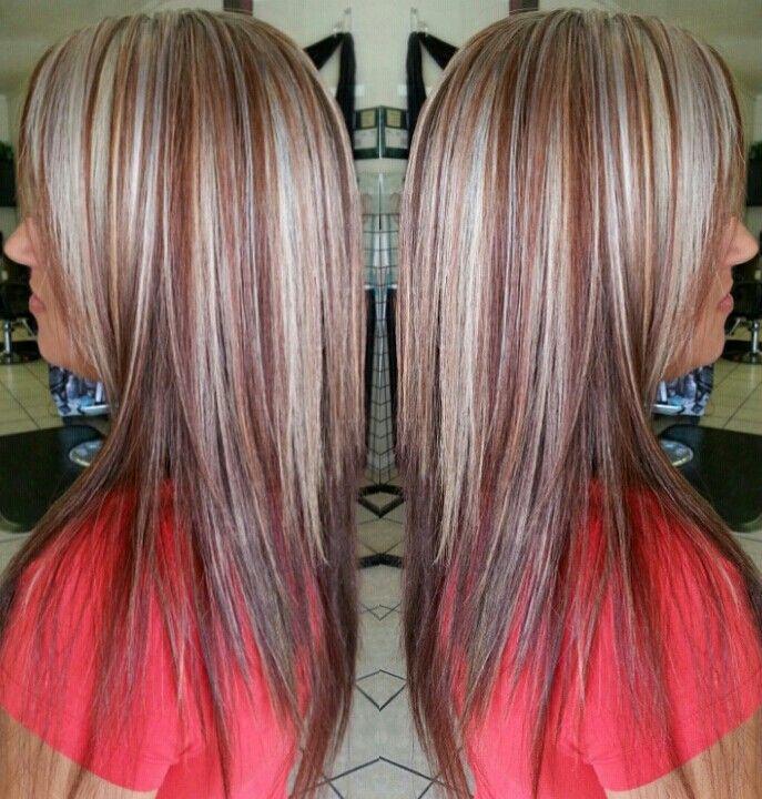 Black Hair Mahogany Red Highlights Ecosia