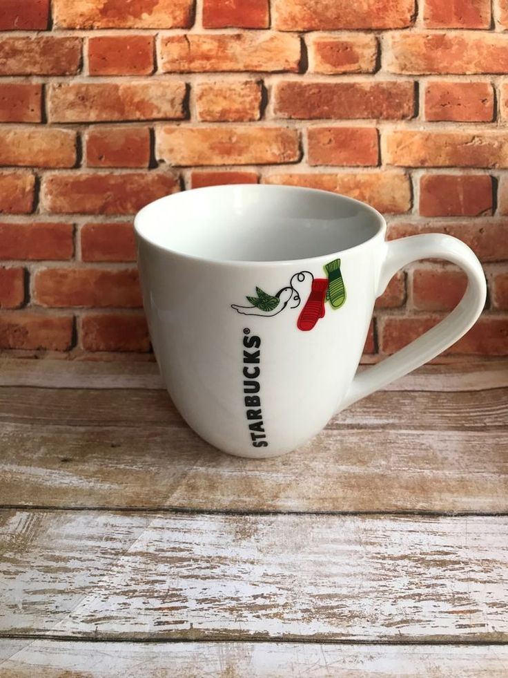Starbucks Mug Holiday Collection Mug Christmas Mittens Starbucks Christmas mug  | eBay