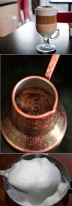 Как приготовить классический кофе латте без кофемашины - рецепт, ингридиенты и фотографии