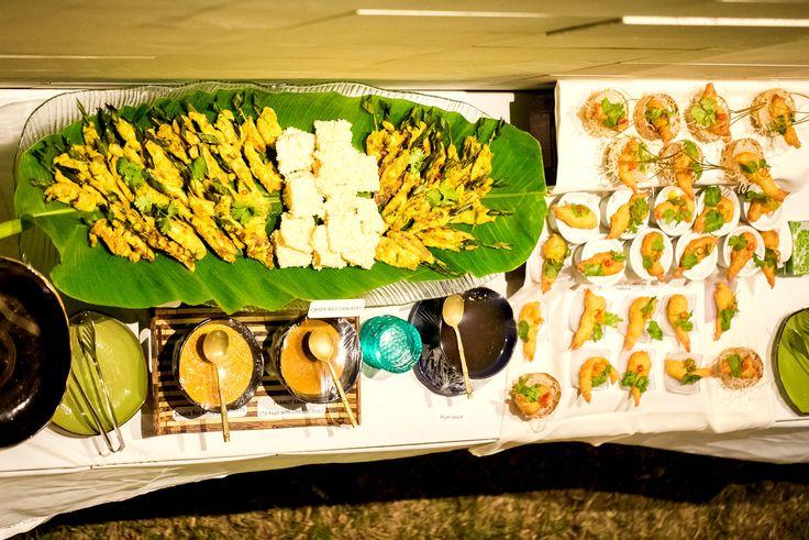 Our Thai buffet!! Yum!!