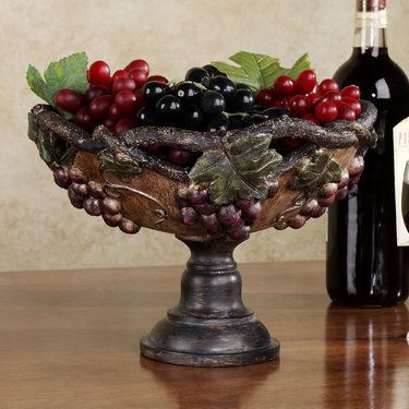 213 best wine and grape decor images on pinterest for Wine and grape themed kitchen ideas