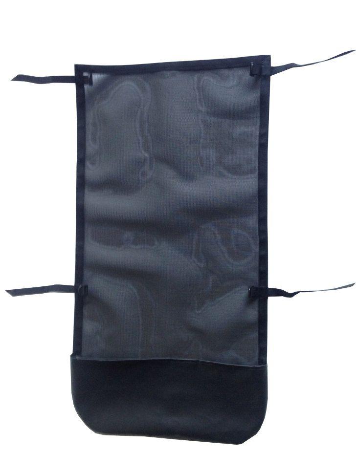 Багажник-сетка для разборного катамарана С-240     Багажник-сетка для разборного катамарана Ондатра С-240 предотвратит падение в воду ценного снаряжения, защитит от забрызгивания, предоставит место для хранения вещей. Легко устанавливается на раму без наклеивания дополнительного крепежа с помощью кармана и четырёх ремней с трёхщелевыми пряжками.       Технические характеристики багажника-сетки для разборного катамарана Ondatra C-240      Длина х ширина, см: 96 х 60;  Материал…