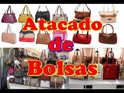 e40d2fb81 Bolsas Femininas no Brás loja com bolsas no atacado acessórios femininos  Revenda Bolsas - YouTube