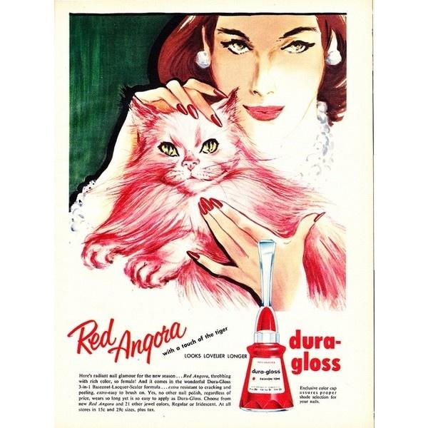 Vintage Adverts via Polyvore