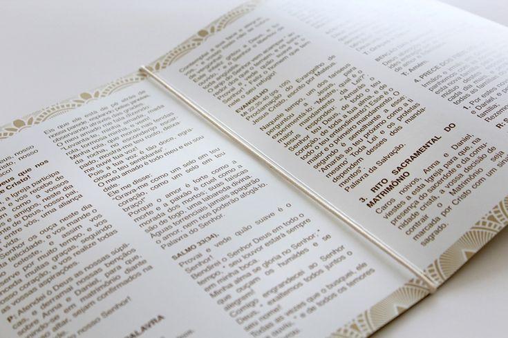 Missal: informações do roteiro da cerimônia - Foto PK