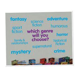 Genre Vinyl Lettering Word Wall