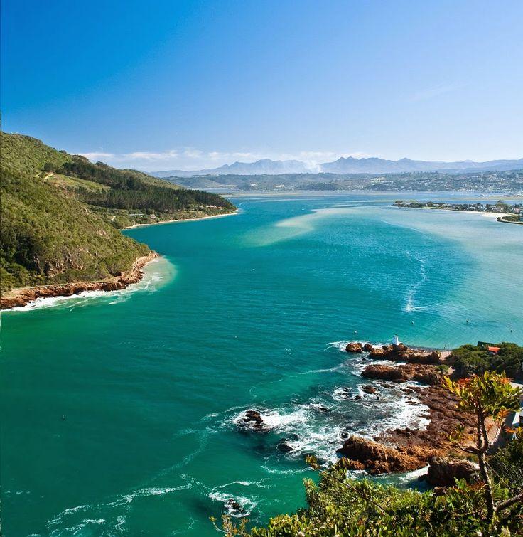 The Tsitsikamma National Park of South Africa.