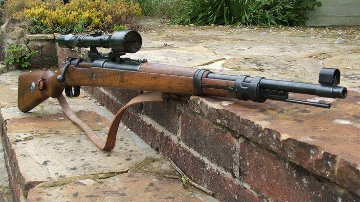Mauser Kar 98 rifle - pin by Paolo Marzioli