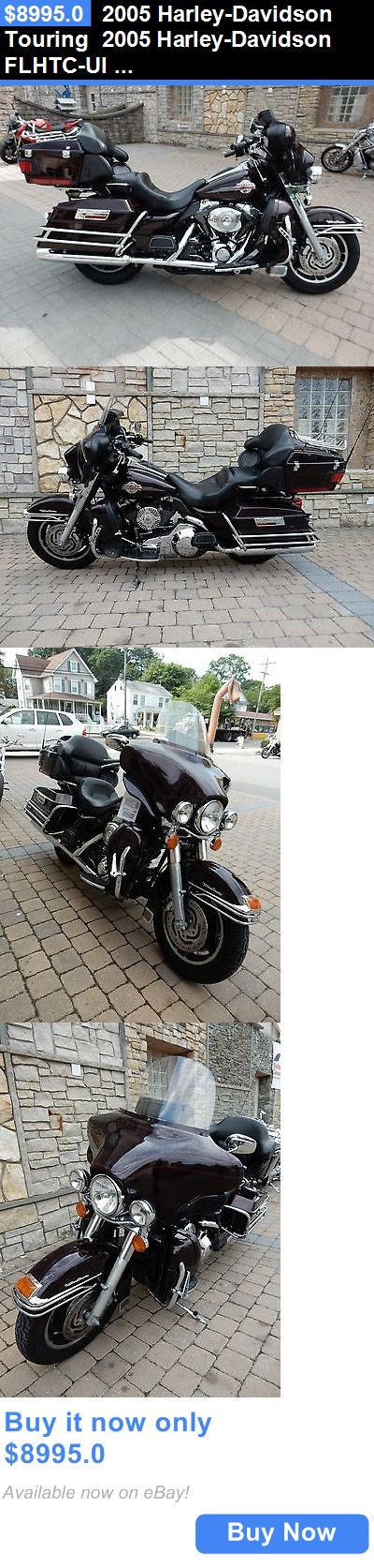 Motorcycles: 2005 Harley-Davidson Touring 2005 Harley-Davidson Flhtc-Ui Ultra Classic Electra Glide BUY IT NOW ONLY: $8995.0