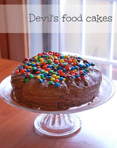 Devil's food cake by Amaradolcezza, via Flickr