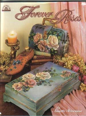 Annette Stevenson is an Australian Decorative artist specialising in roses and cute teddy bears. Her books are available at this link.
